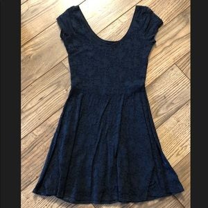 Abercrombie and Fitch blue dress